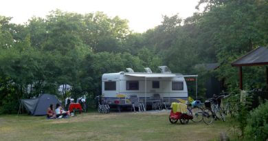 The campsite – with space for you