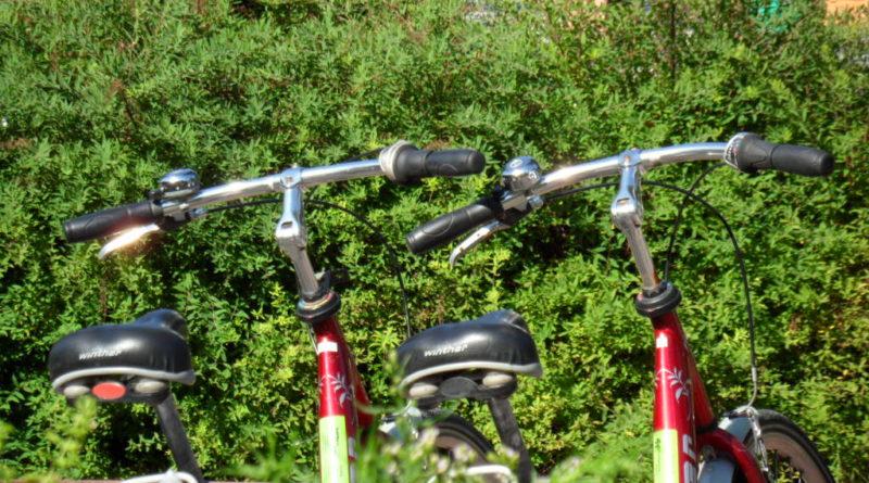 Auf dem Fahrrad